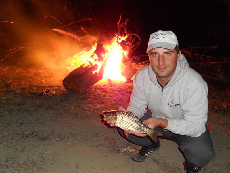 Carp fishing on the Danube