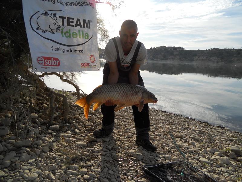 Catch carp on Ebro