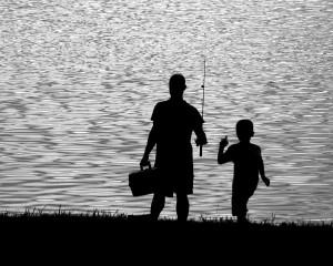 Fishing school for children