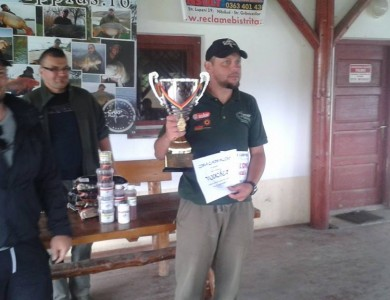 Robi Solticzki from Team Idella, the Winner of the 2nd Edition of the Carp Plus Cup