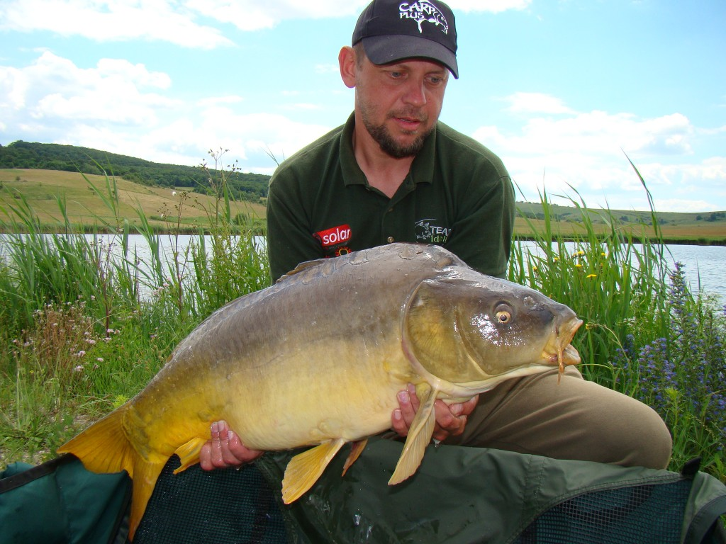 Another catch Robi Solticzki (Team Idella) in Carp fishing competition Cup Plus Edition II