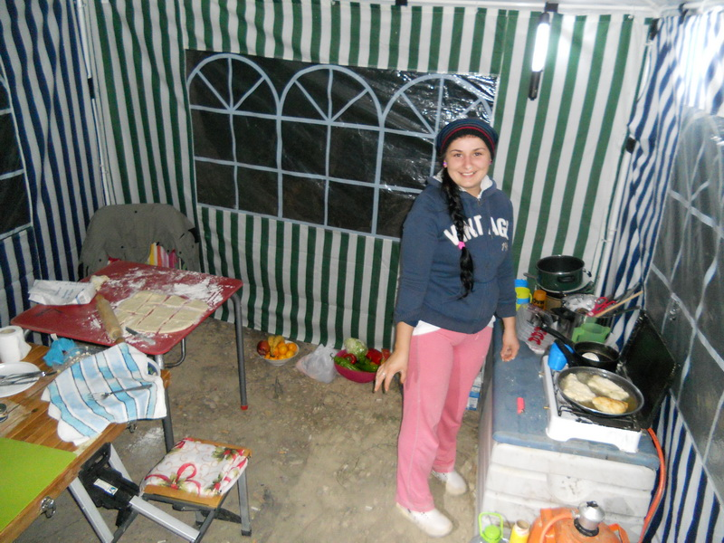 The kitchen of the Ebro