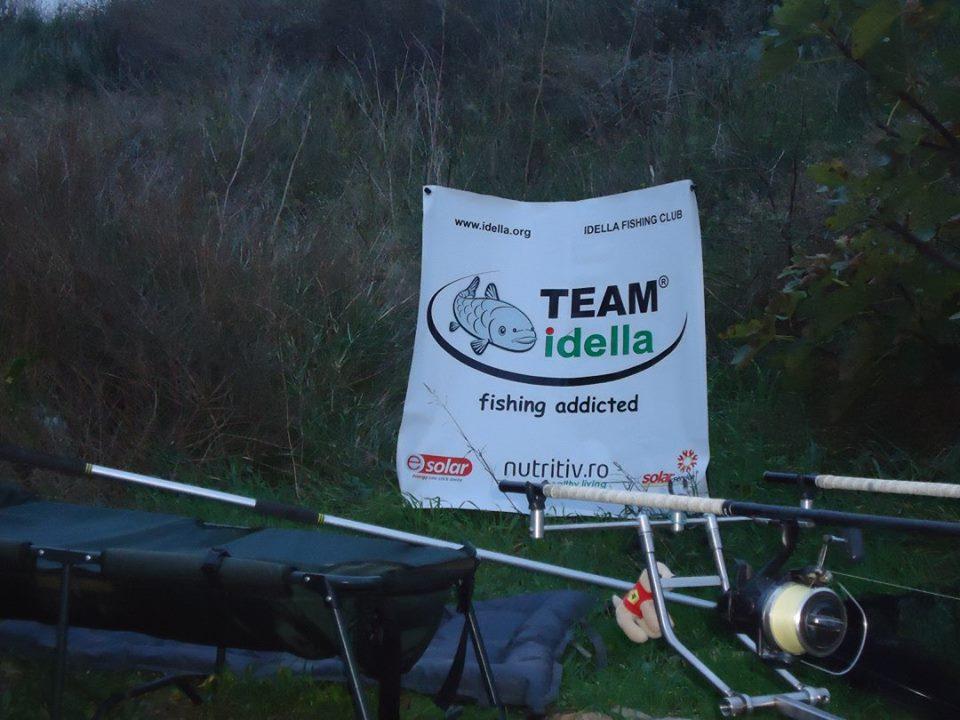 Team Idella at fishing contest Carpfishing Mequinenza SDP El Siluro in Spain