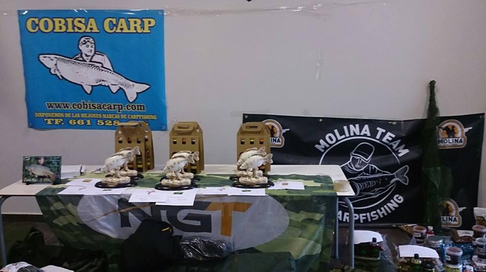 Fishing competition prizes Carpfishing Mequinenza SDP El Siluro Spain