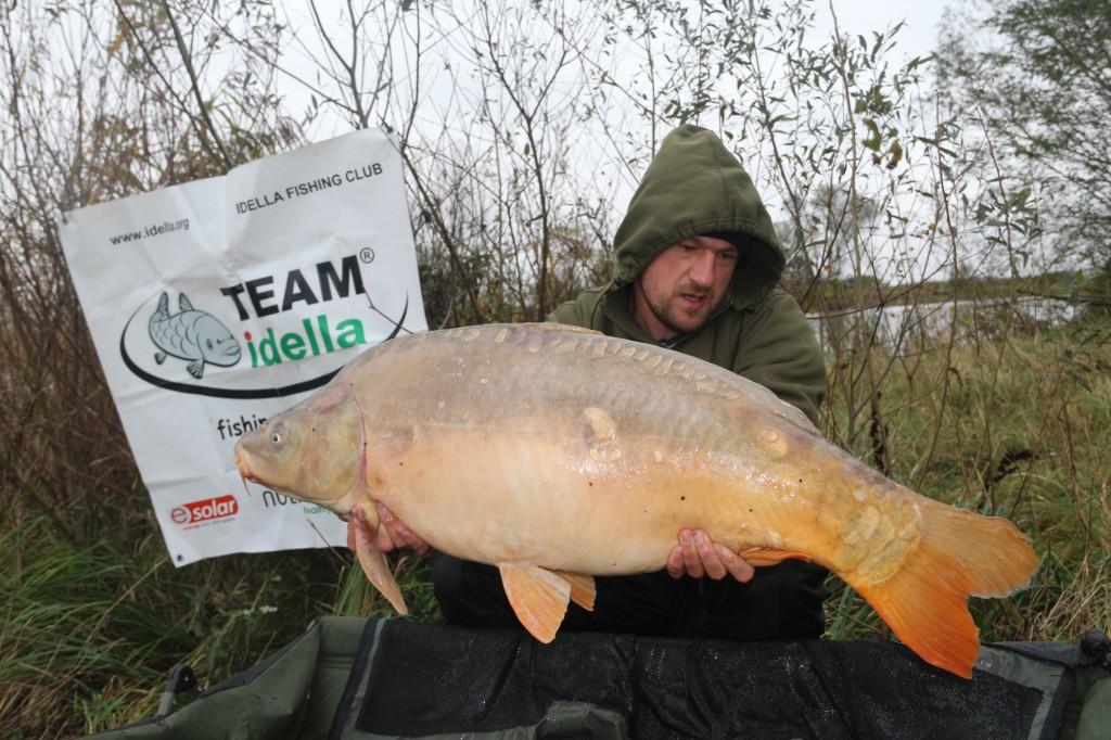 Cosmin Miclosoni from Team Idella - catch carp