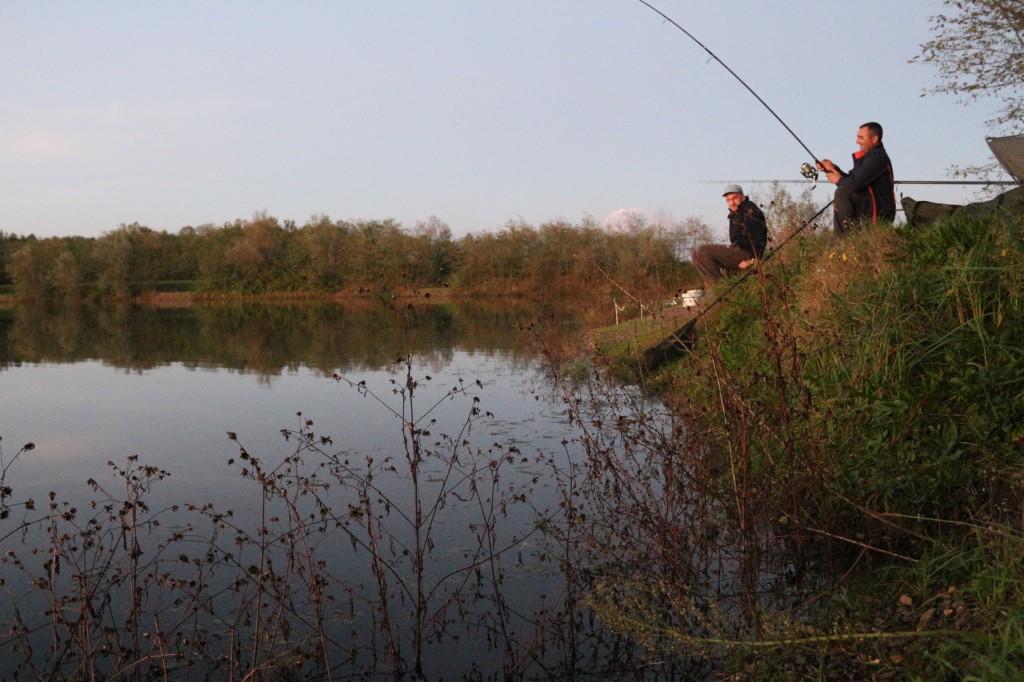 Augustin Barac and Cosmin Miclosoni (Team Idella) carp fishing rods
