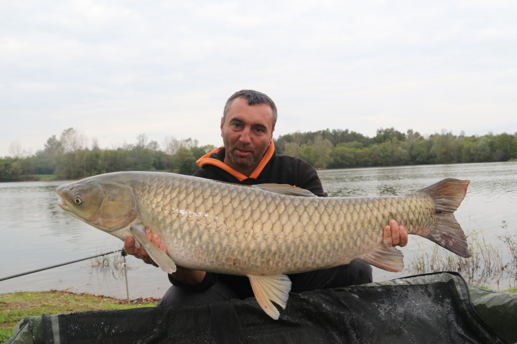 Augustin Barac capture carp (Team Idella)