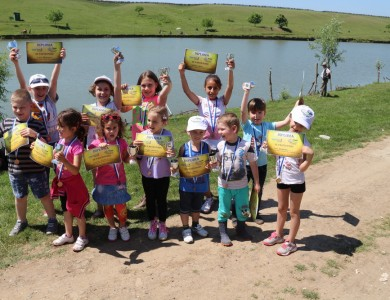 The Helen Doron English Idella Junior Cup 2015 in Sports Fishing for Children