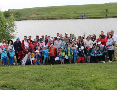 The FasTracKids Idella Junior Cup 2015 in Sports Fishing for Children