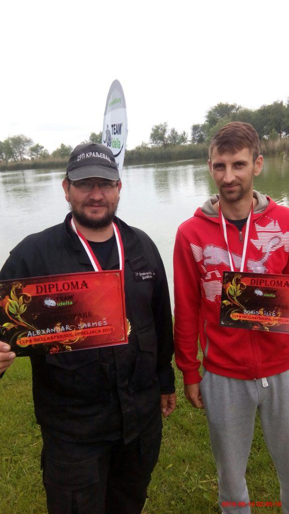 Alex Sarmes and Boris Ilici
