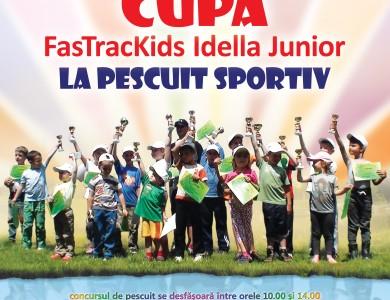 Cupa de pescuit pentru copii FasTracKids Idella Junior 2014 – inscriere