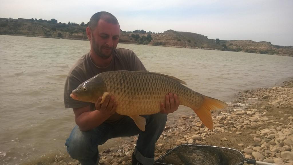 Pescuitul la crap pe Ebro cu Team Idella