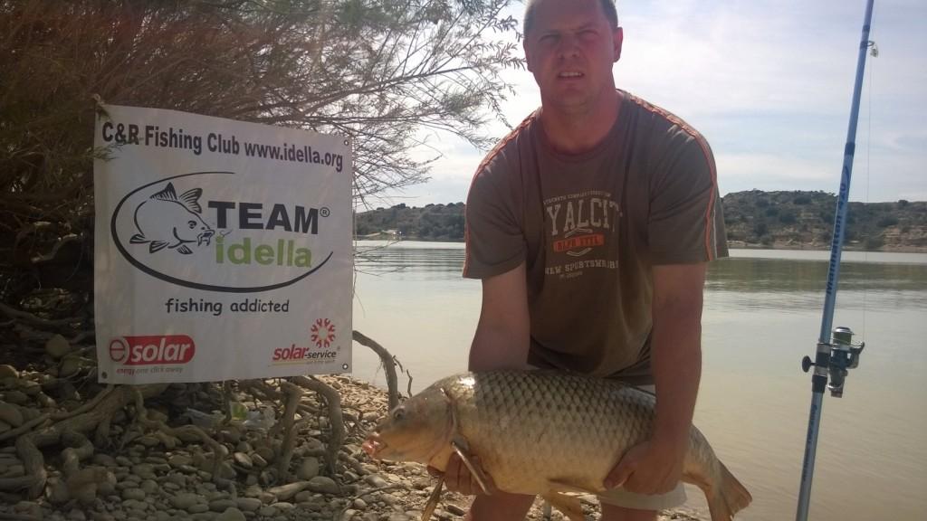 Pescuit la crap pe Ebro - Team Idella