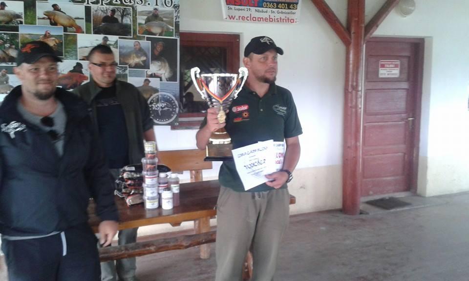 Robi Solticzki de la Team Idella, câştigătorul Cupei Crap Plus Ediţia a II-a