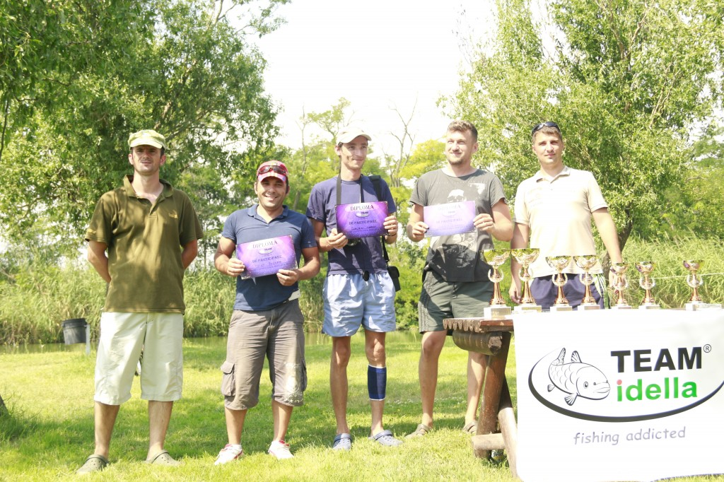 Concurenții de pe locul 4 - TEAM Idella - Ghunter, Claudiu