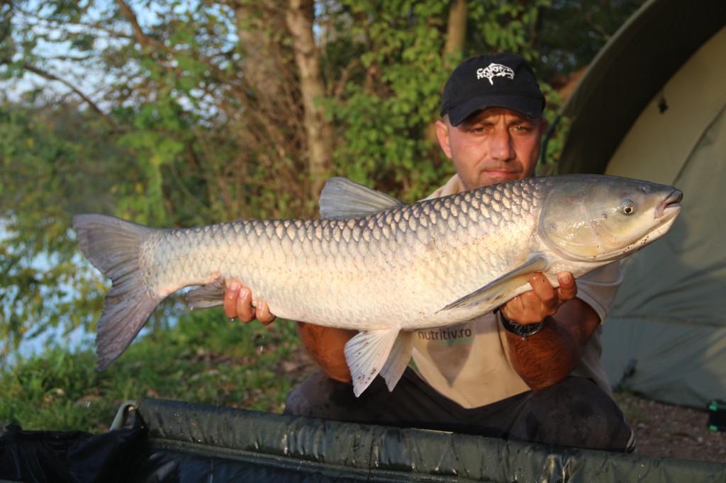Mircea Rădulescu - captură în timpul partidei de pescuit