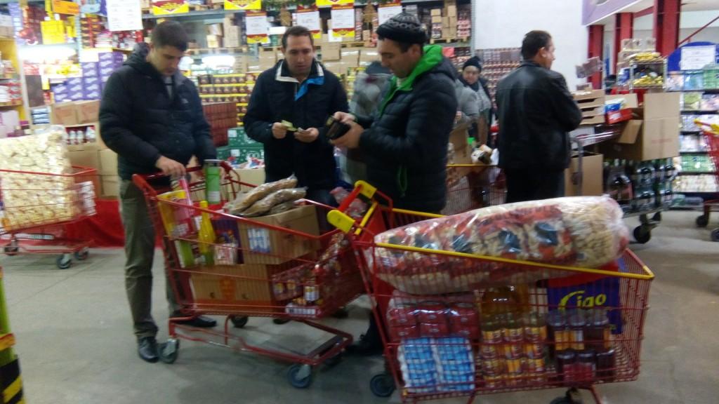 Cumpărături pentru Centrului de Consiliere și Sprijin pentru Părinți și Copii