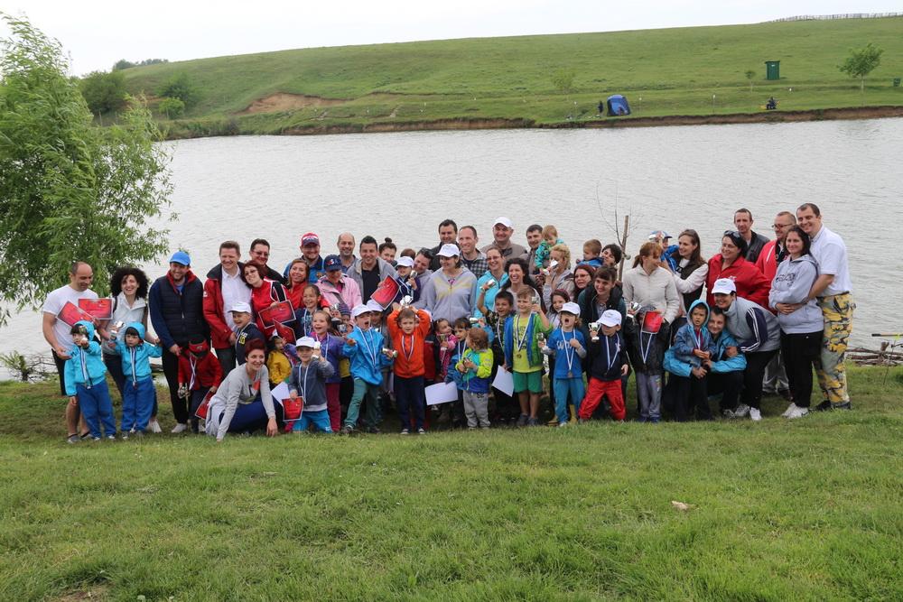 Cupa FasTracKids Idella Junior 2015 la pescuit sportiv pentru copii