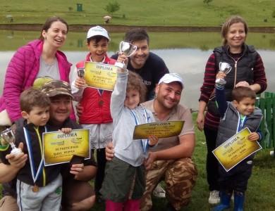 Cupa Helen Doron English Idella Junior 2015 la pescuit sportiv pentru copii