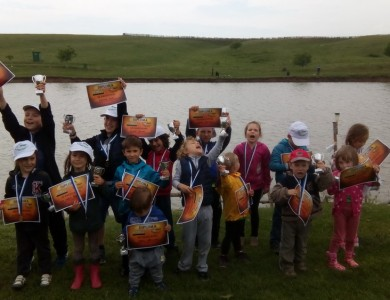 Cupa Smart Kids Idella Junior 2015 la pescuit sportiv pentru copii