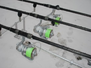 Localizarea crapului pe timp de iarnă -  Locuri pescuit