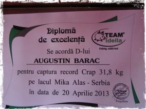 diploma_de_excelenta_team_idella_acordata_lui_gusti_pentru_captura_record