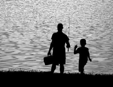 Scoala de pescuit pentru copii