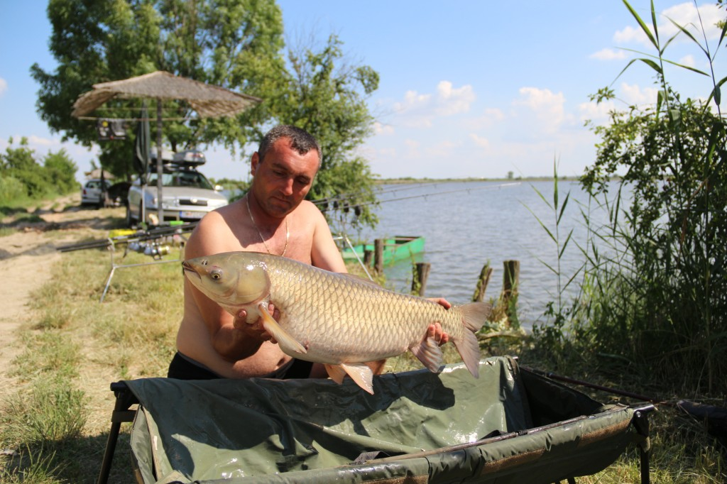 Team Idella la pescuit pe Belo Blato