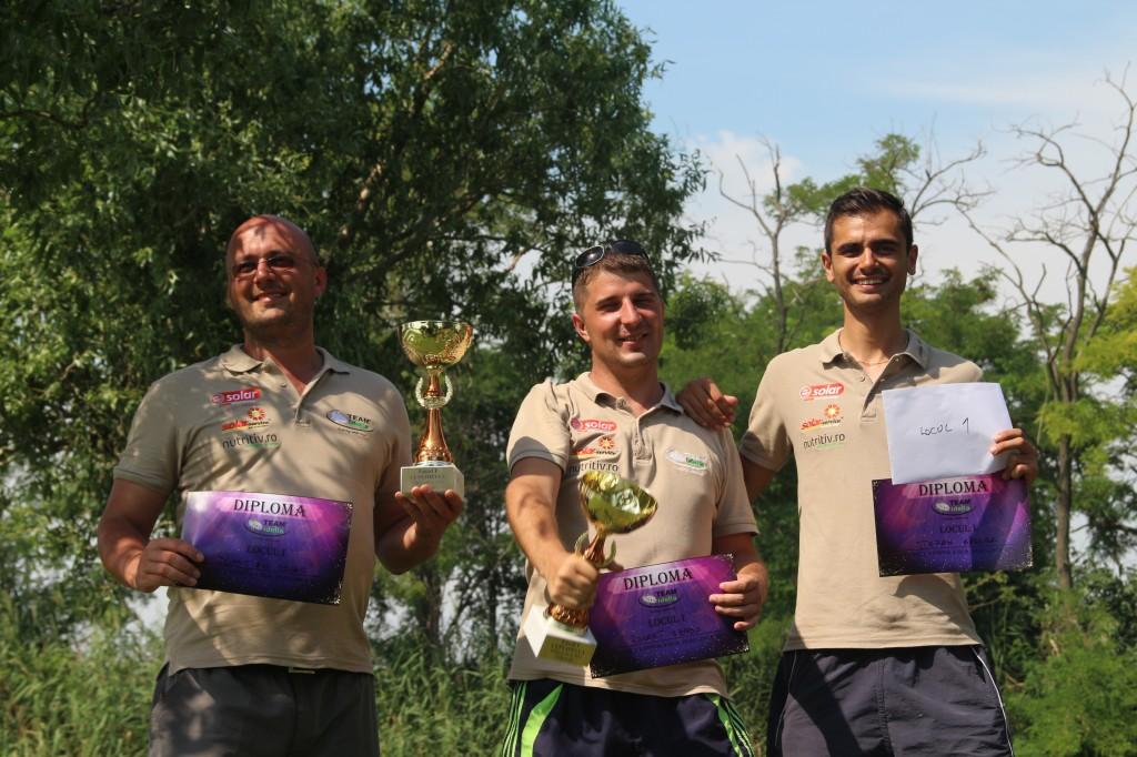 Locul 1 - TEAM Idella - Robert Szabo, Domițian Covaci, Baroga Ștefan