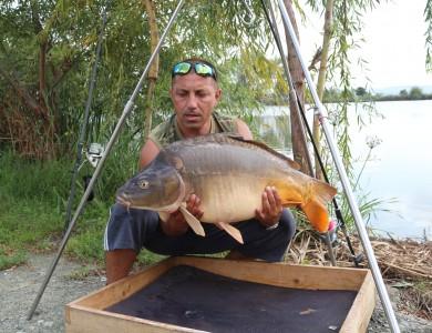 Mircea Rădulescu pe Mika Alas — 402 kilograme de pește în două zile