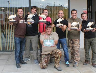 Ervin Kiss de la Team Idella a luat captura la Carpfishing Mequinenza S.D.P. El Siluro Spania