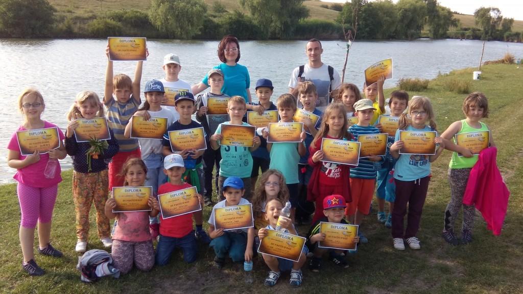 Cupa Imalo Kinderklub Idella Junior 2015 la pescuit sportiv pentru copii
