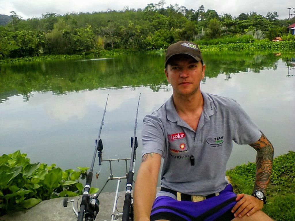 Pescuit la Gillhams Fishing Resorts, Thailanda